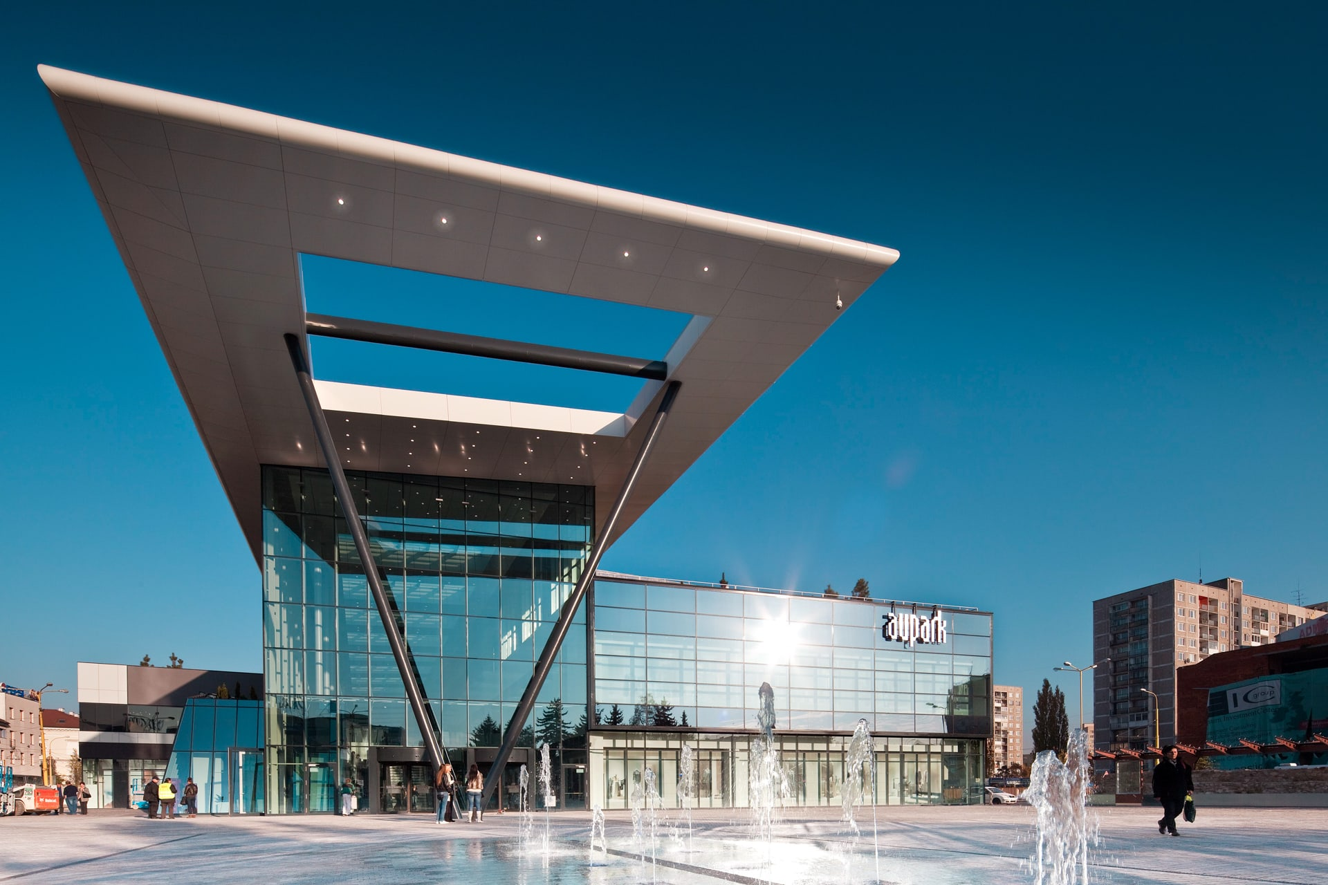 Aupark Shopping Centre  449a57f3c3c