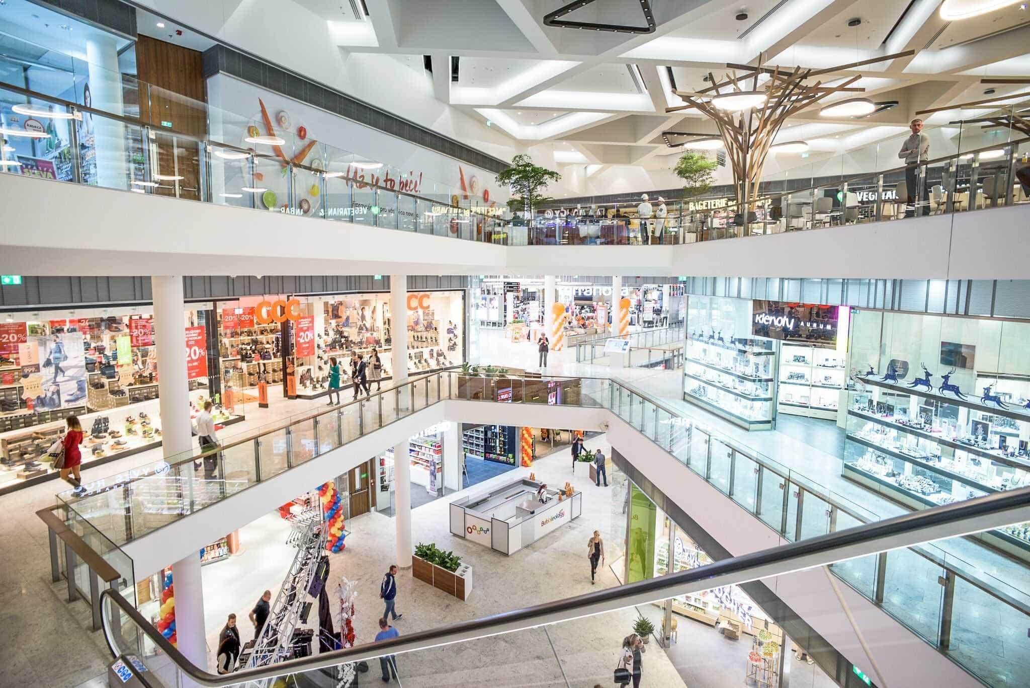 38aa616cec HB Reavis  first Aupark shopping center in the Czech Republic opens ...