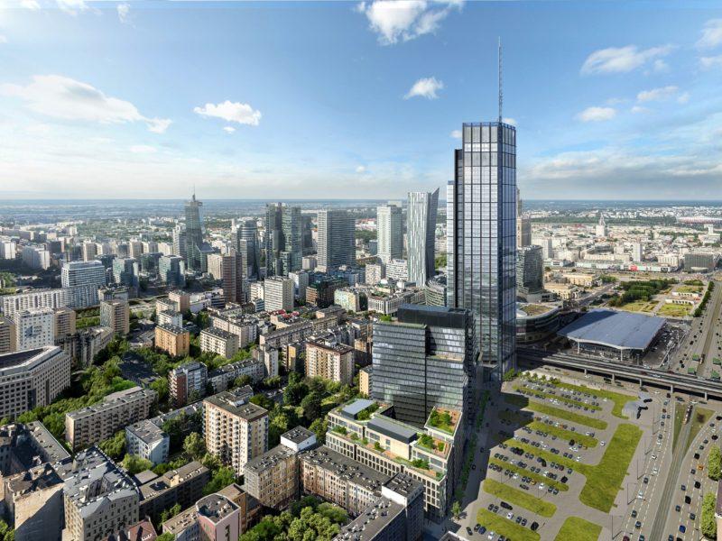 Varso już w budowie – ruszyła długo wyczekiwana inwestycja w centrum Warszawy