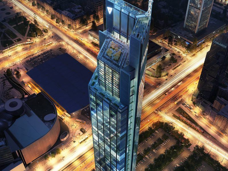 HB Reavis announces development of new Warsaw landmark, including 310m tall Foster + Partners tower
