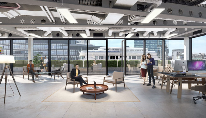 20 Farringdon Street - Office Interior