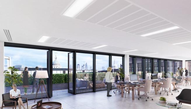 20 Farringdon Street - Level 11 Office View