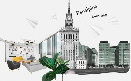 Office design of Panalpina in Warsaw
