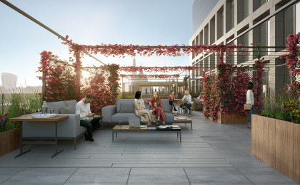 4th Floor Terrace Bloom Clerkenwell